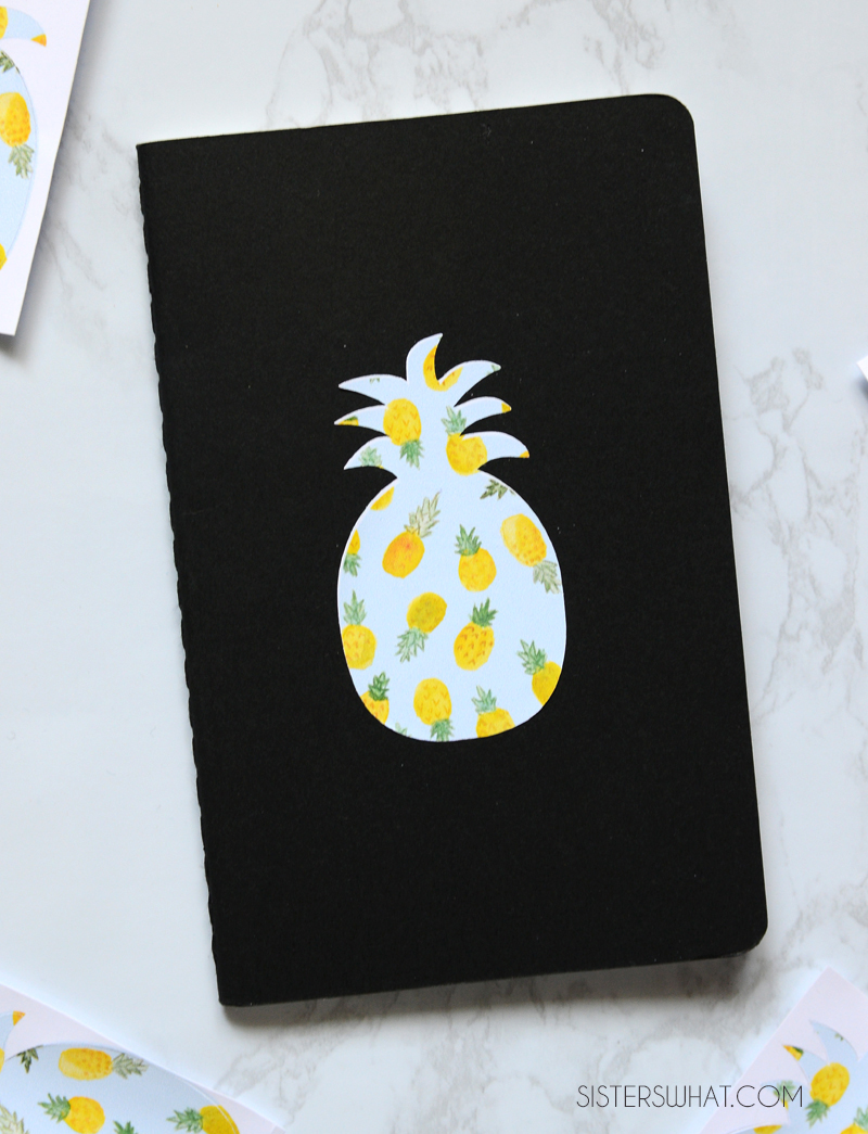 make your own stickers at home back to school