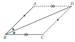 diagonal jajargenjang ABCD