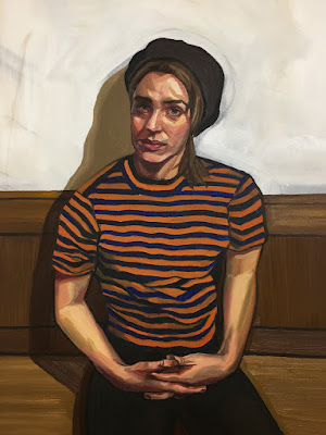Girl in Striped T, Ania Hobson