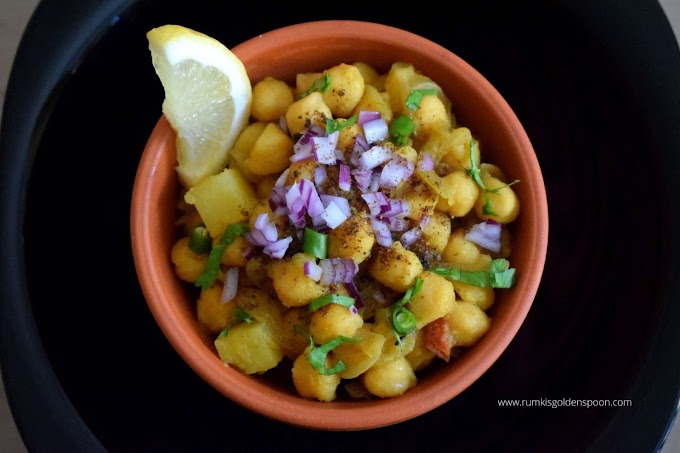 Bengali Chana Masala recipe | kabli cholar recipe | Kabuli chana recipe bengali