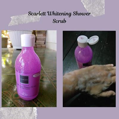 scarlett shower scrub