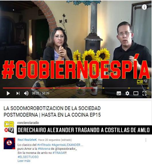 https://youtu.be/T2wA9mF-Mhc Lo clasico del #infiltrado #AgenteALEXANDER ... puro Amor a la #Morena de @lopezobrador_ Sin la morena de amlo no #TRAGA!!! #ELSECTUOSO By #RezizteK