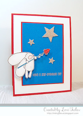 Have a Star-Spangled Day card-designed by Lori Tecler/Inking Aloud-stamps and dies from The Cat's Pajamas