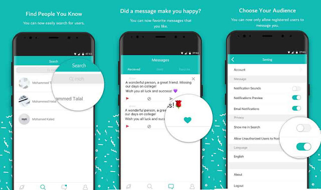 Sarahah The new way of expressing thoughts