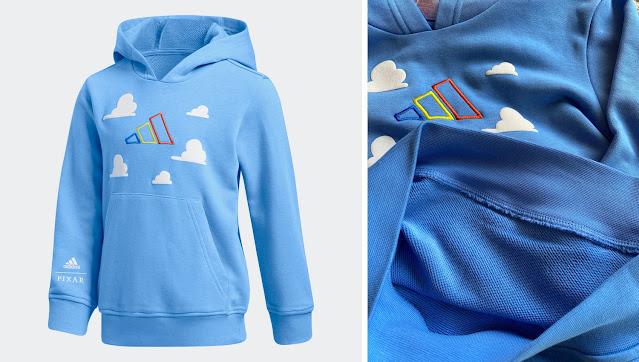 Adidas Toy Story Cloud Luxo Sweatshirt Hoodie