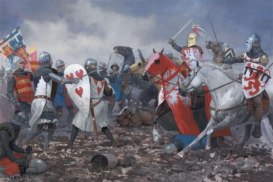 caballeros-medievales-dibujos
