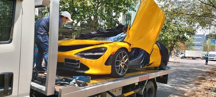 McLaren 720S Spider màu vàng chính thức thông quan với hàng loạt tùy chọn đắt tiền - Ảnh 2.