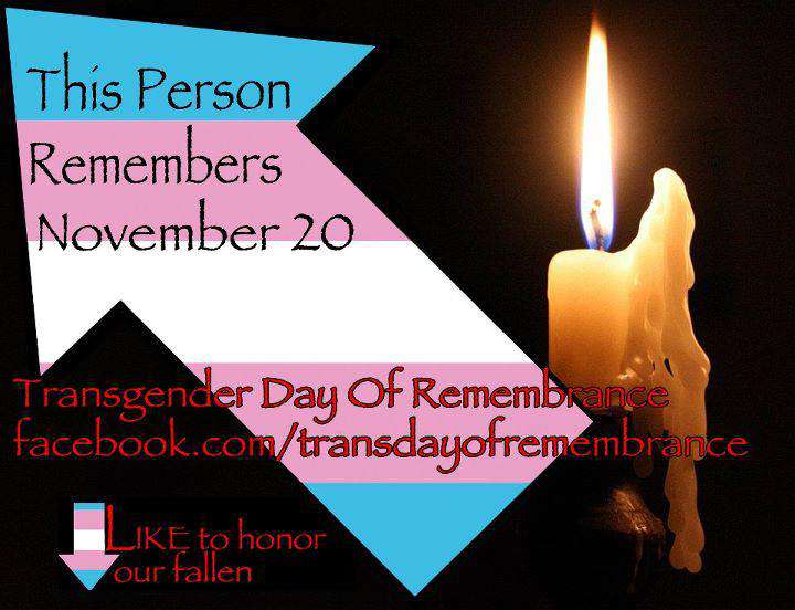 Transgender Day of Remembrance Wishes Images