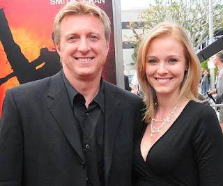 Stacie zabka with her husband William Zabka