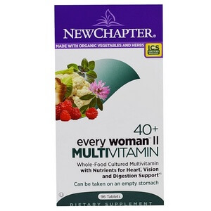 New Chapter - 40+ Every Woman II Multivitamin