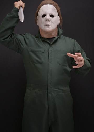 Color Of Michael Myers Coveralls In Halloween 2020 Officially Licensed Michael Myers Coveralls Now Available