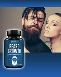 Beard Growth Biotin Supplements