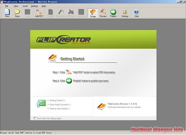 Download FlipCreator 5.1.0.2 Full Crack