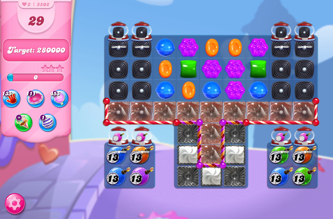 Candy Crush Saga level 5502