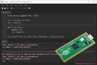Set up Raspberry Pi Pico for MicroPython