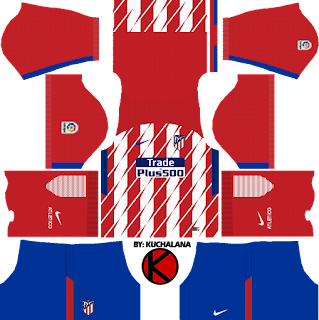 Atletico Madrid 2017/18 - Dream League Soccer Kits
