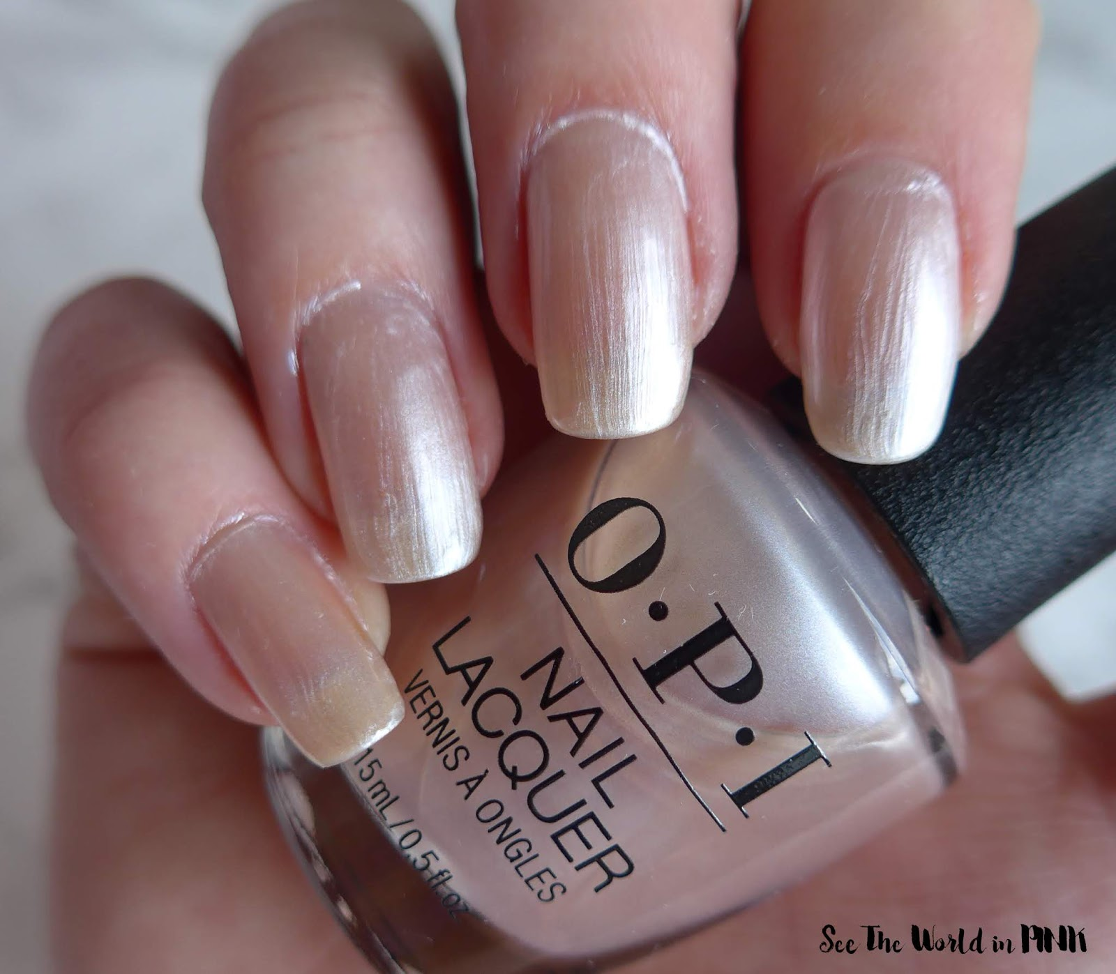 OPI Always Bare For You - Chiffon-d of You