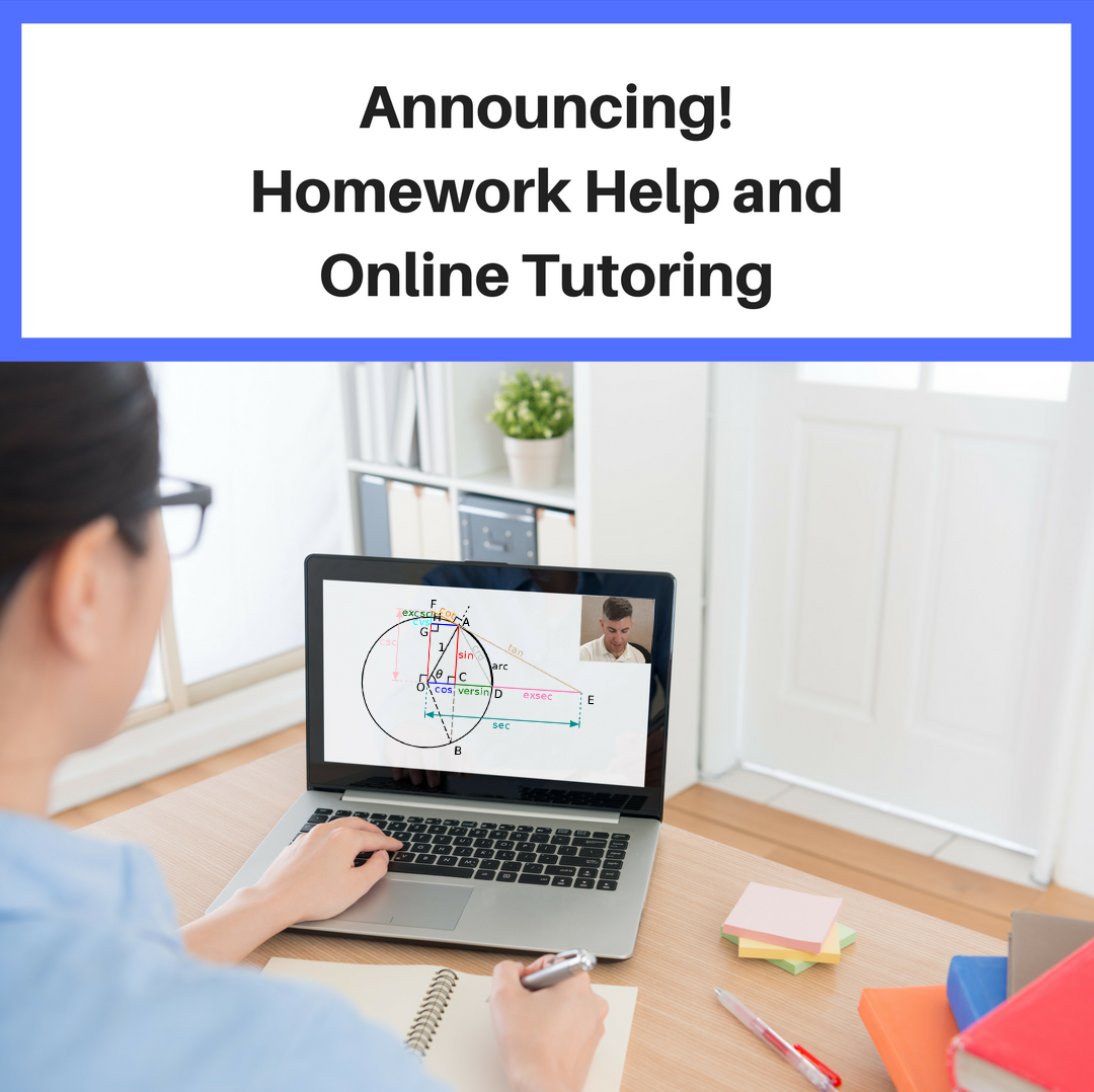 Online tutoring and homework help