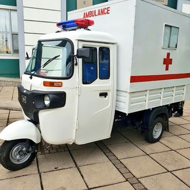 PHOTOS: Keke Stylishly Converted To A Hospital Ambulance