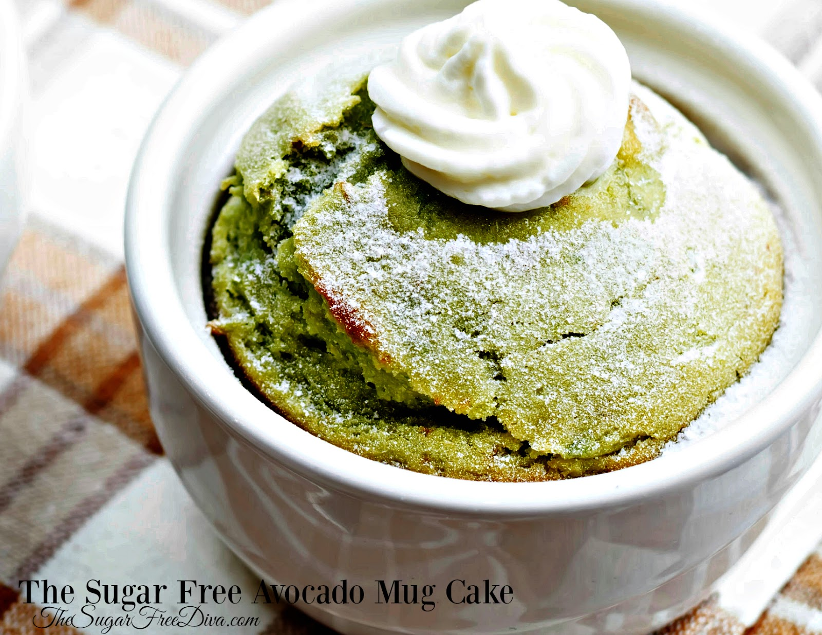 The Sugar Free Avocado Mug Cake