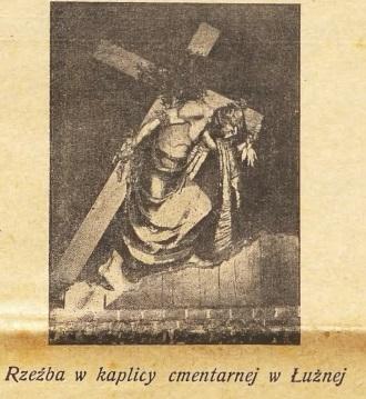 Łużna rzeźba 1938