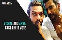 Sivakarthikeyan, Vivekh, Vishal, Arya and Trisha Cast Their Vote | TN Election 2016