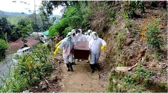 Satu Pasien Meninggal Di Wonosobo Di Makamkan Dengan Prosedur Pendemi