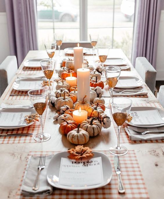 A Fall-Themed Dinner Party