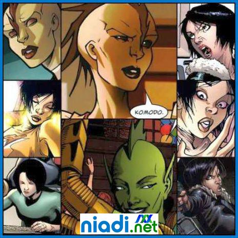 komik marvel melati kusuma,  melati kusuma aka komodo, superhero indonesia jaman dulu, superhero marvel dari asia, superhero marvel dari indonesia