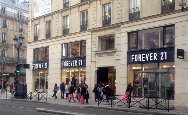 Loja Forever 21 em Paris