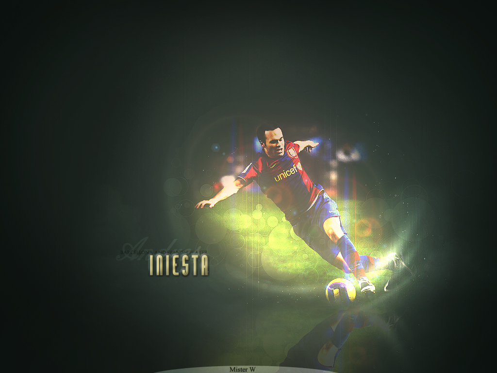 sport be sporty: andres iniesta wallpapers