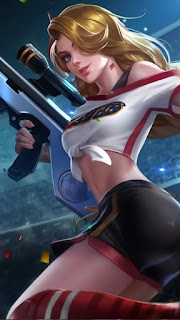 Lesley Cheergunner Heroes Marksman Assassin of Skins V1