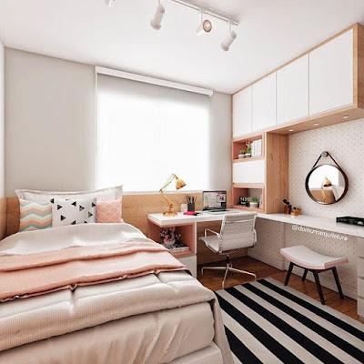 kamar cantik minimalis elegan
