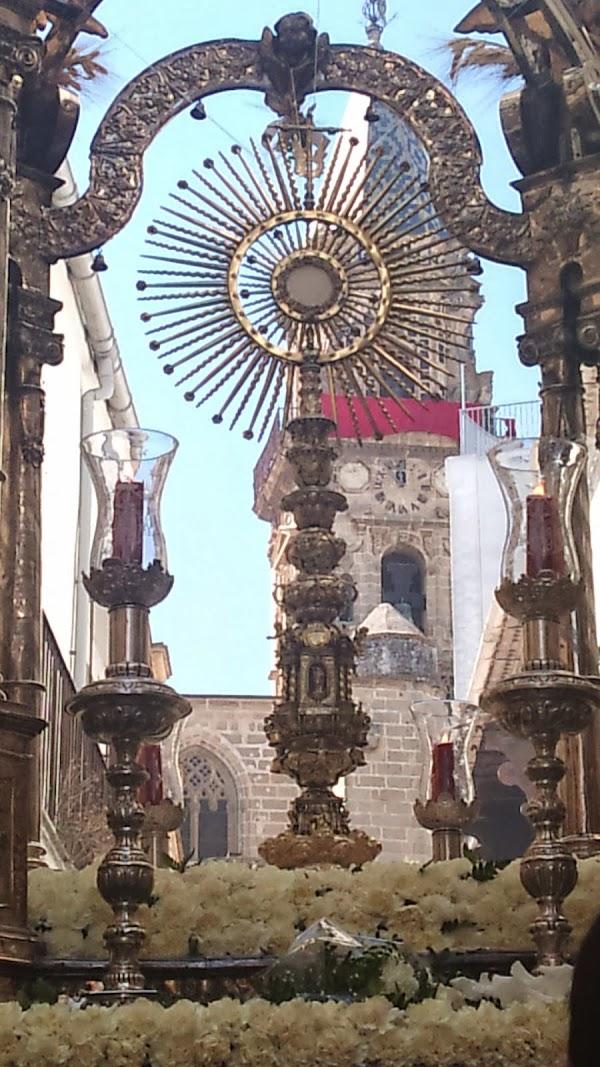 Horario e Itinerario Procesiónes Corpus de Minerva y de la parroquia del Corpus Christi en Jerez de la Forntera