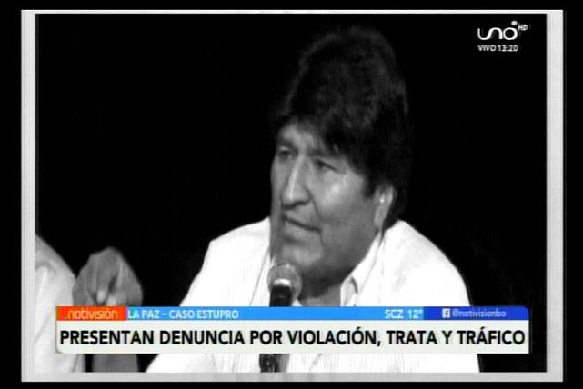 Presentarán segunda denuncia contra Evo Morales por violación, trata y tráfico de personas