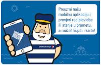 Jadrolinija mobilna aplikacija za Android i iOS otok Brač online slike