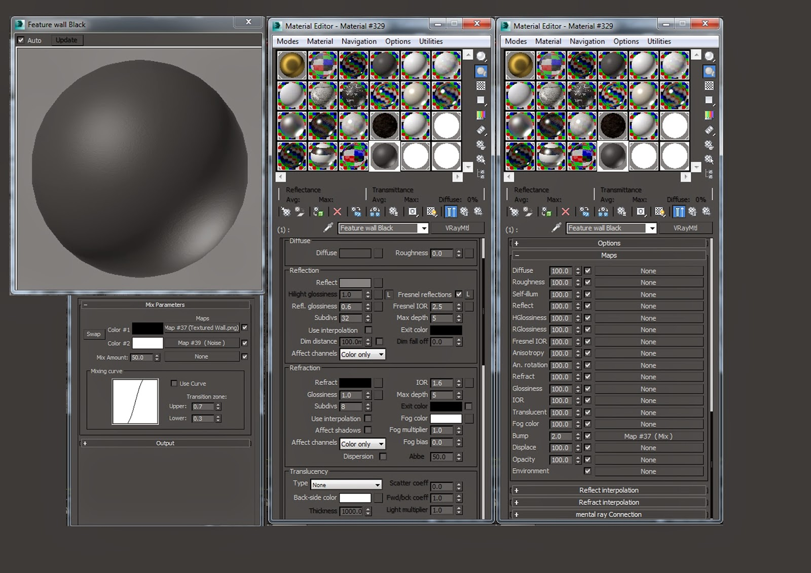 Vray Wall Paint Texture 3ds Max