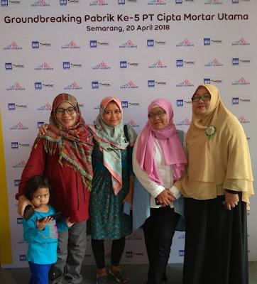 Groundbreaking Pabrik Mortar Instan Semarang