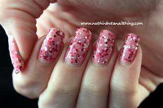 Born Pretty Store: Candy Color Glitter Sparkle Yogurt Polishes