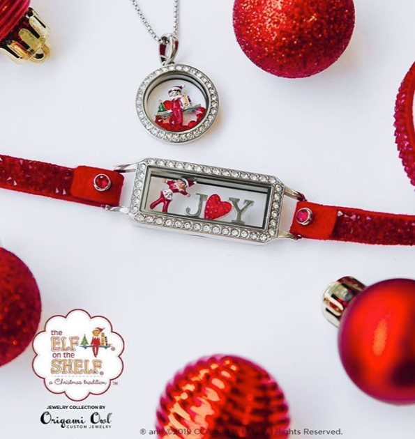 Shop Elf On The Shelf Charms and Living Lockets at StoriedCharms.com