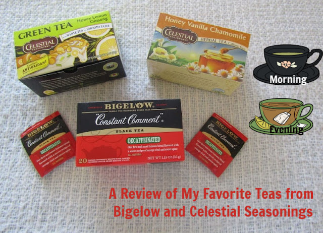 A Review of My Favorite Teas from Bigelow and Celestial Seasonings