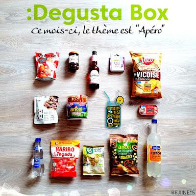 Blog Bejiines Degusta Box de Juin 2020 : Apéro