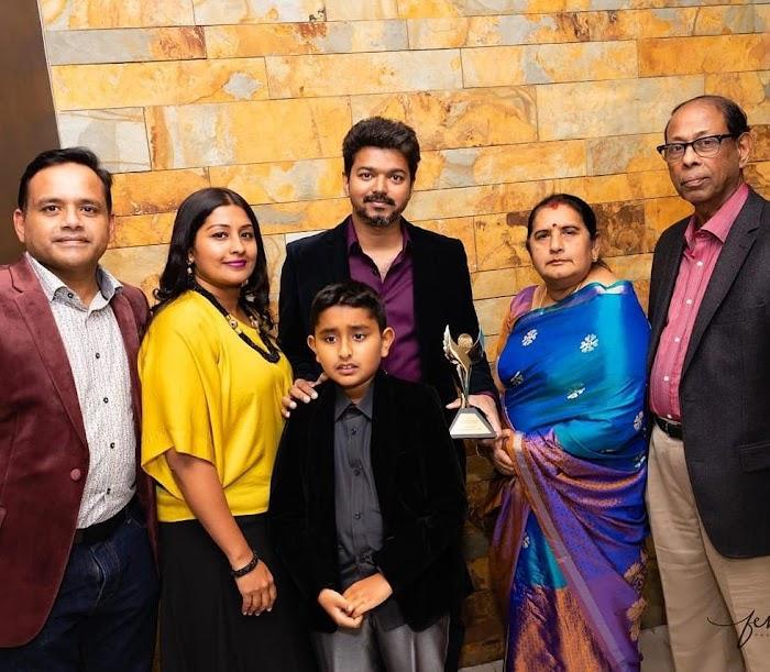 Ilayathalapathy Vijay received IARA Award Photos|Stills