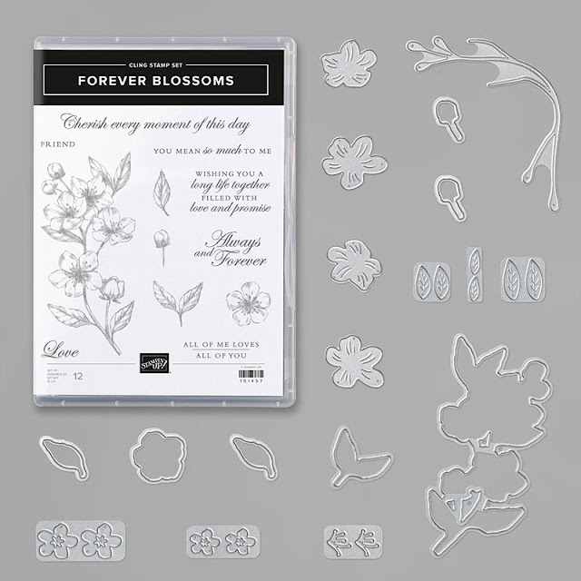 Craftyduckydoodah!, Forever Blossoms, Susan Simpson UK Independent Stampin' Up! Demonstrator, Spring / Summer 2020, Kre8tors Blog Hop, Supplies available 24/7 from my online store,
