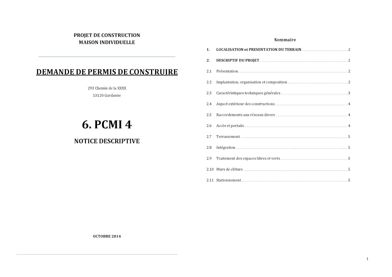 Permis de construire 13 composition d 39 un dossier de for Cout d un permis de construire