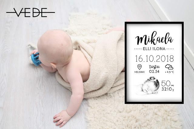 vauva 6 kuukautta