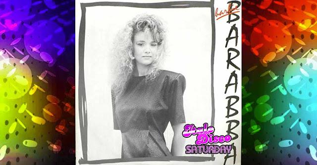 La copertina di ''Barabba'' di Barbie, brano Italo Disco dalla fucina di Martinelli