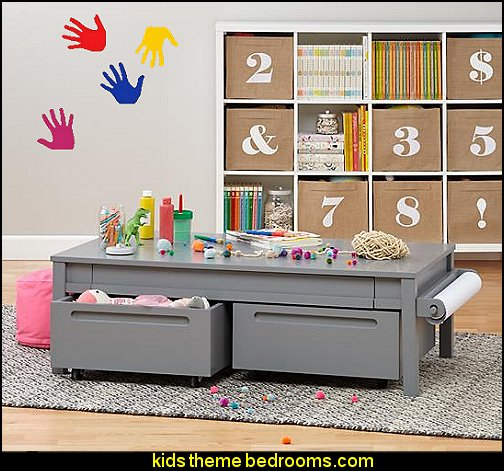 Kids Furniture  Kids Workspace   kids desks fun playroom furniture  kids rooms