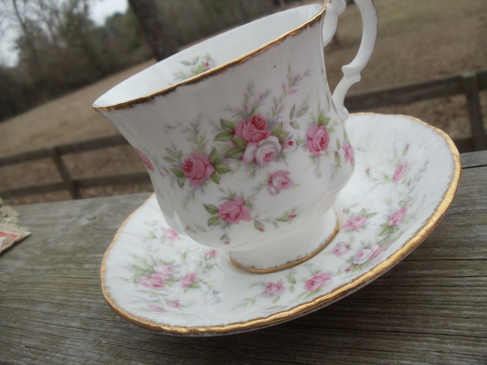 Comin' Home: Valentines and A Beautiful Tea Cup