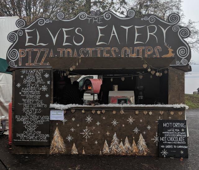 Elves Eatery at Kielder Winter Wonderland